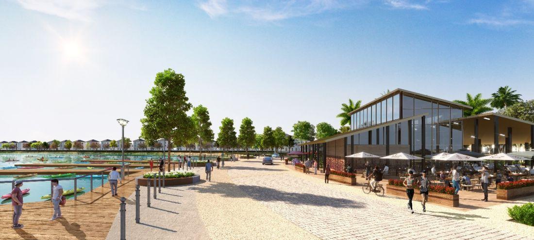 Chuỗi tiện ích hiện đại của River Park 1 Aqua City
