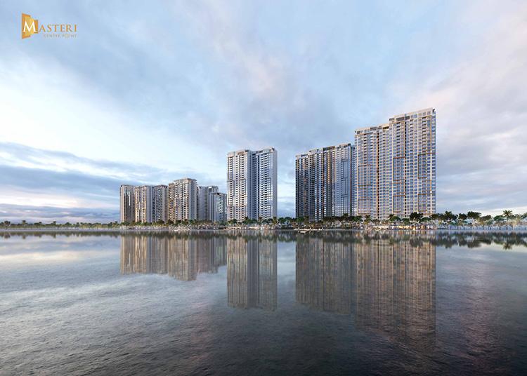 Phối cảnh dự án Masteri Centre Point với tầm nhìn trực diện sông Tắc và sông Đồng Nai