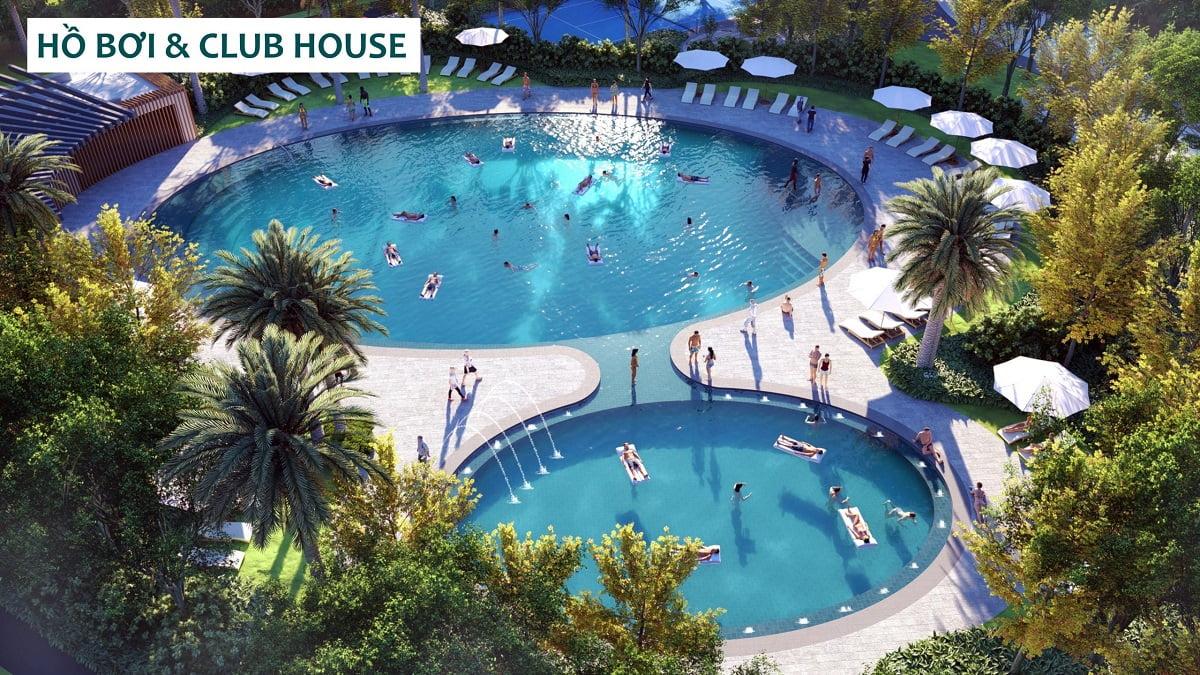 Hồ bơi & Club House