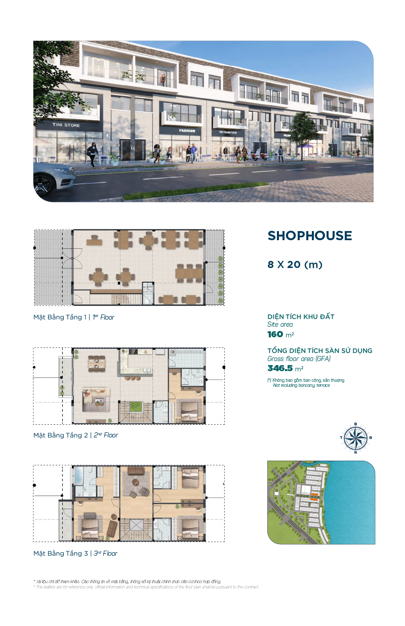 Shophouse The Elite 8x20m
