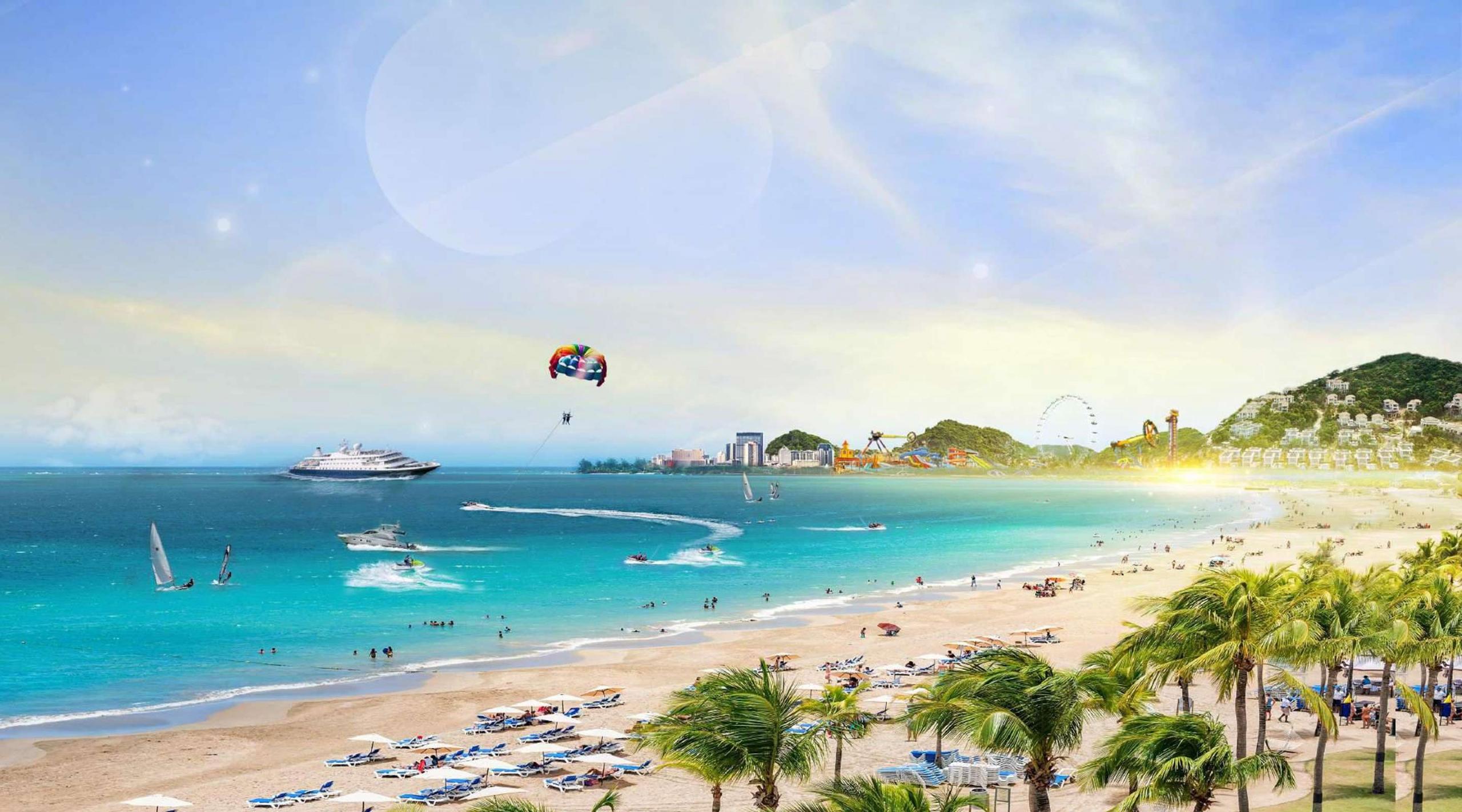Phối cảnh dự án siêu du lịch nghỉ dưỡng NovaWorld Phan Thiết chủ đầu tư Novaland