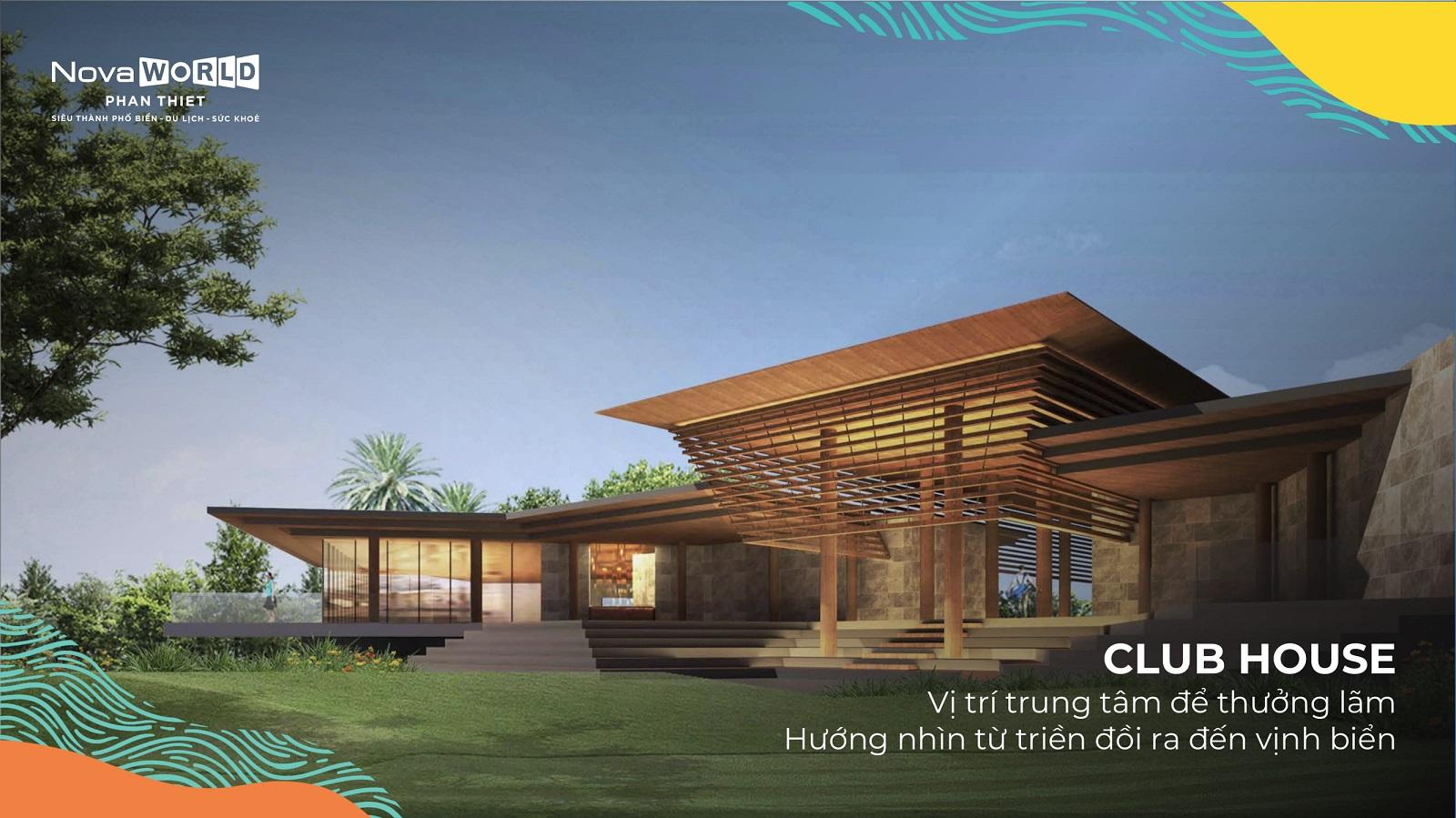 Club house tại NovaWorld Phan Thiết
