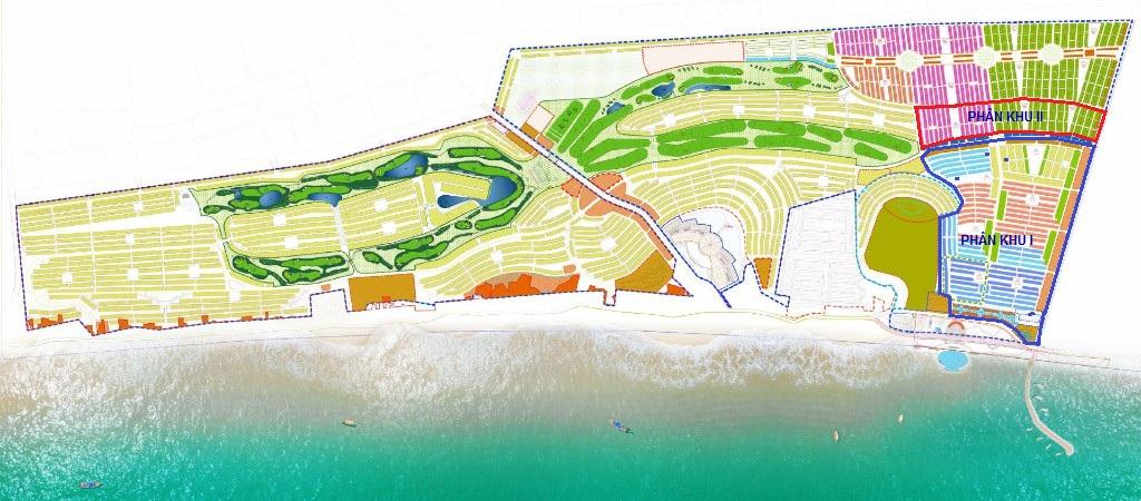 Mặt bằng chi tiết khu đô thị Novaworld Phan Thiết