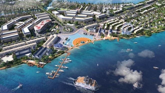 Bến du thuyền 5 sao đẳng cấp tại River Park 1 dự án Aqua City
