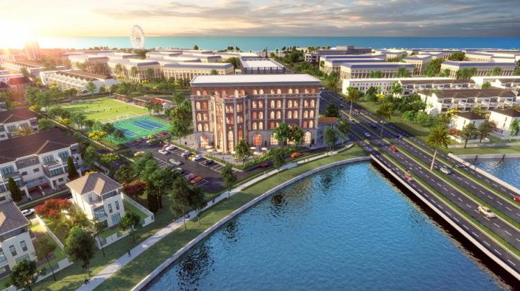 Không gian sống sinh thái River Park 1 dự án Aqua City