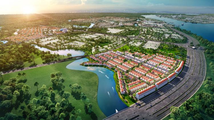Kết nối giao thông thuận tiện với River Park 1 dự án Aqua City