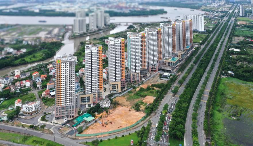 Hình ảnh thực tế dự án The Sun Avenue tập đoàn Novaland