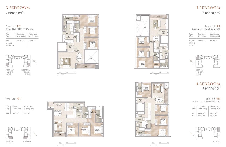 Thiết kế dự án căn hộ chung cư The Marq Quận 1 Đường Nguyễn Đình Chiểu chủ đầu tư HongKong Land