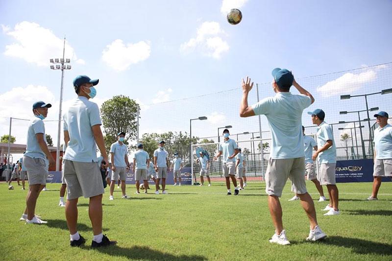 Trải nghiệm sân bóng đá đẳng cấp quốc tế cùng Saigon FC tại Aqua City