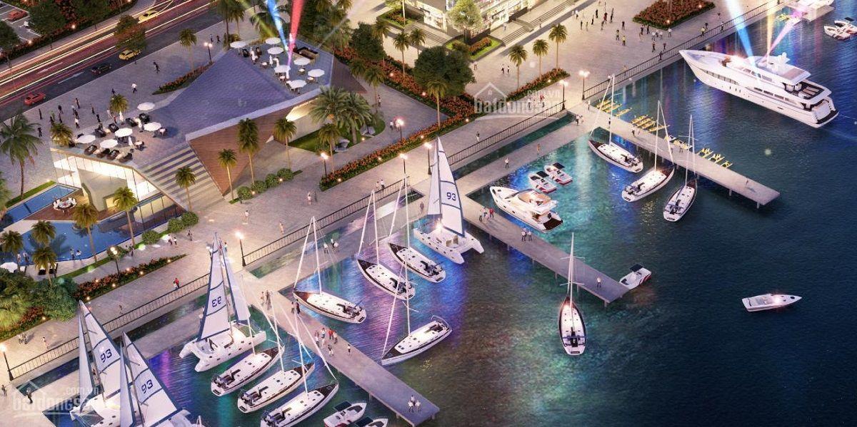 Clubhouse du thuyền trên sông tại phân khu The Elite dự án Aqua City