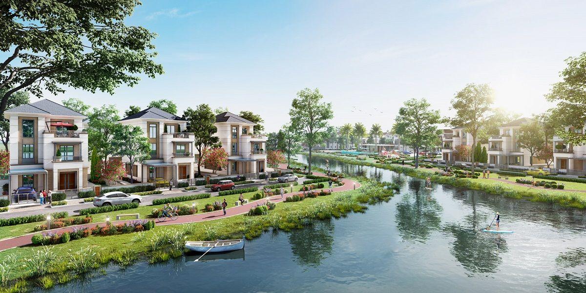 Công viên chủ đề tại phân khu The Elite dự án Aqua City