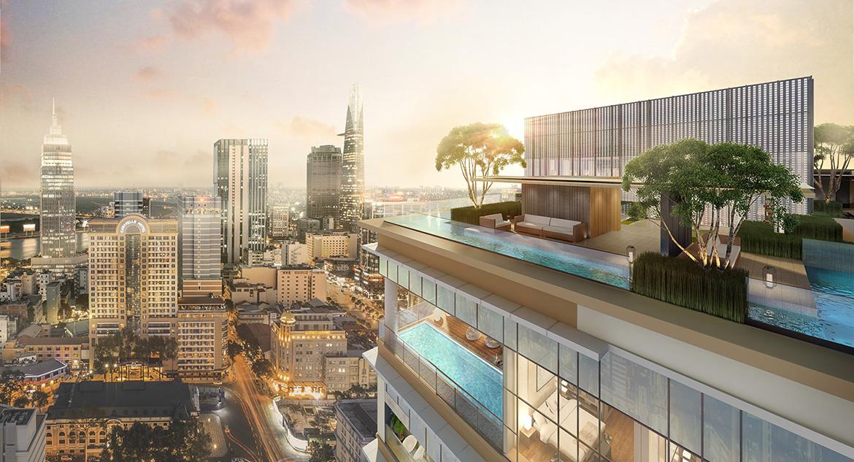 Tiện ích dự án căn hộ chung cư The Marq Quận 1 Đường Nguyễn Đình Chiểu chủ đầu tư HongKong Land