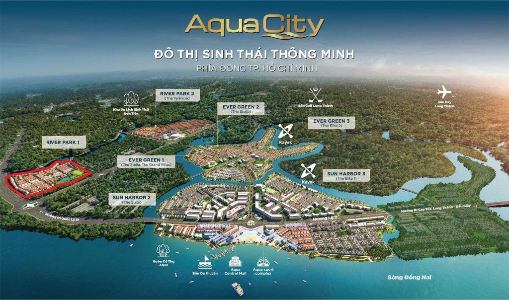 Tổng quan khu đô thị sinh thái Aqua City