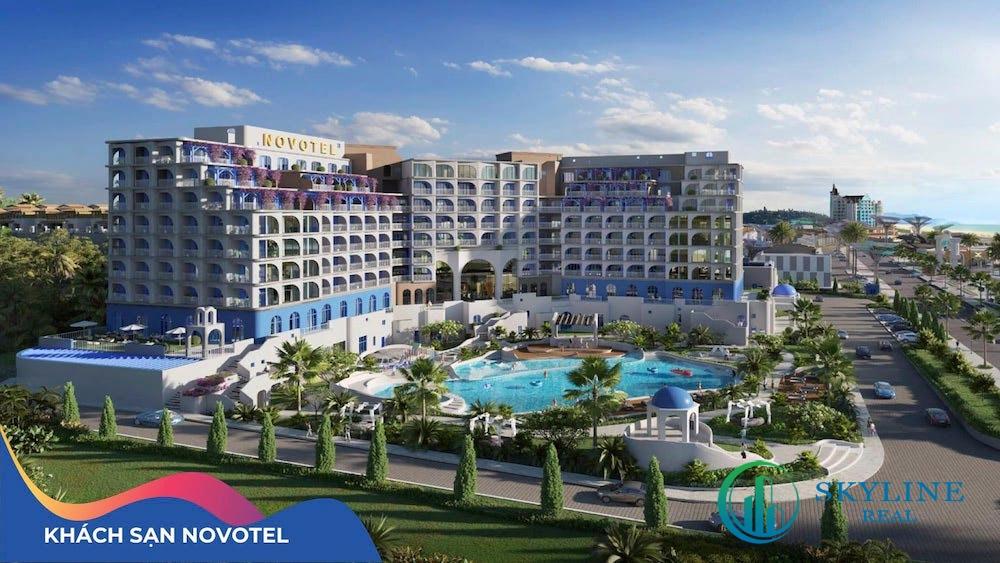 Phối cảnh đại khách sạn Novotel – đại đô thị nghỉ dưỡng NovaWorld Phan Thiết