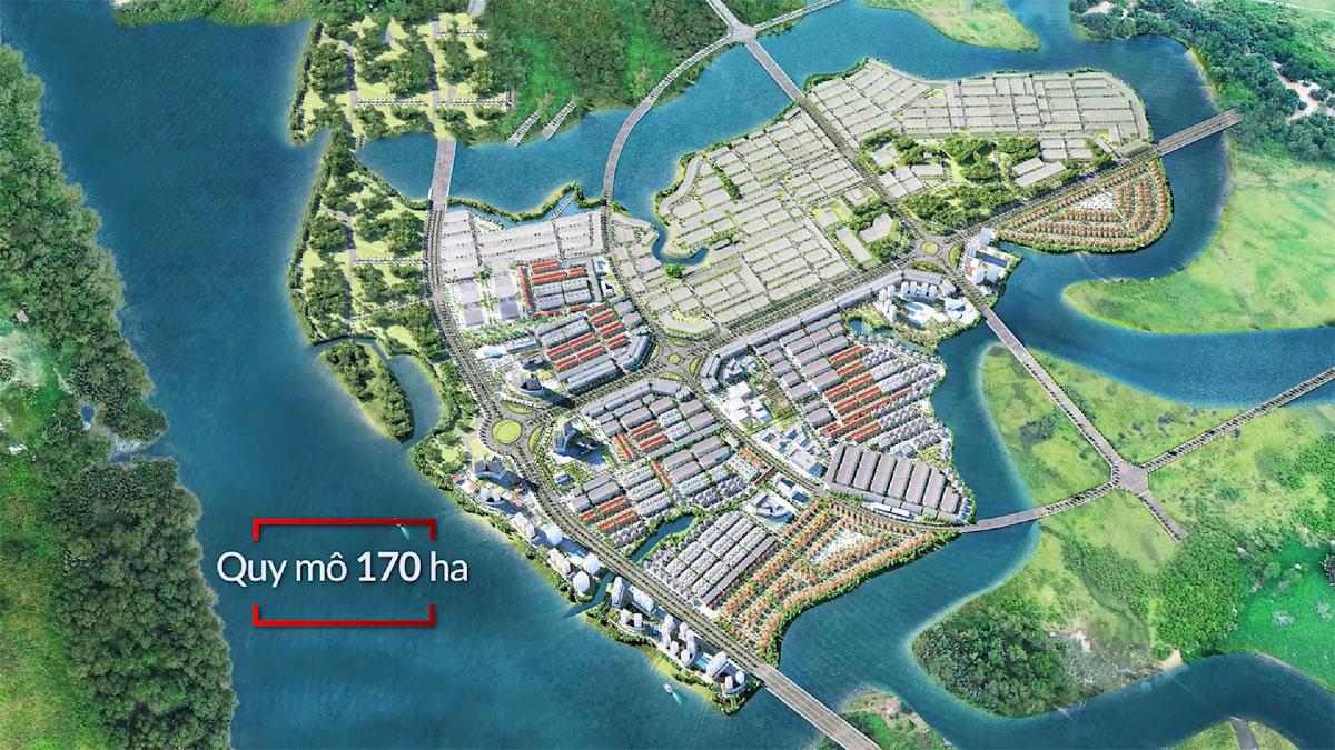 Mặt bằng Tổng thể Dự án Waterfront City Đồng Nai