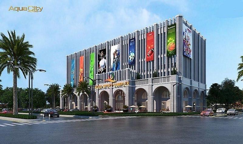 trung tâm thể thao phức hợp Aqua Sport Comple