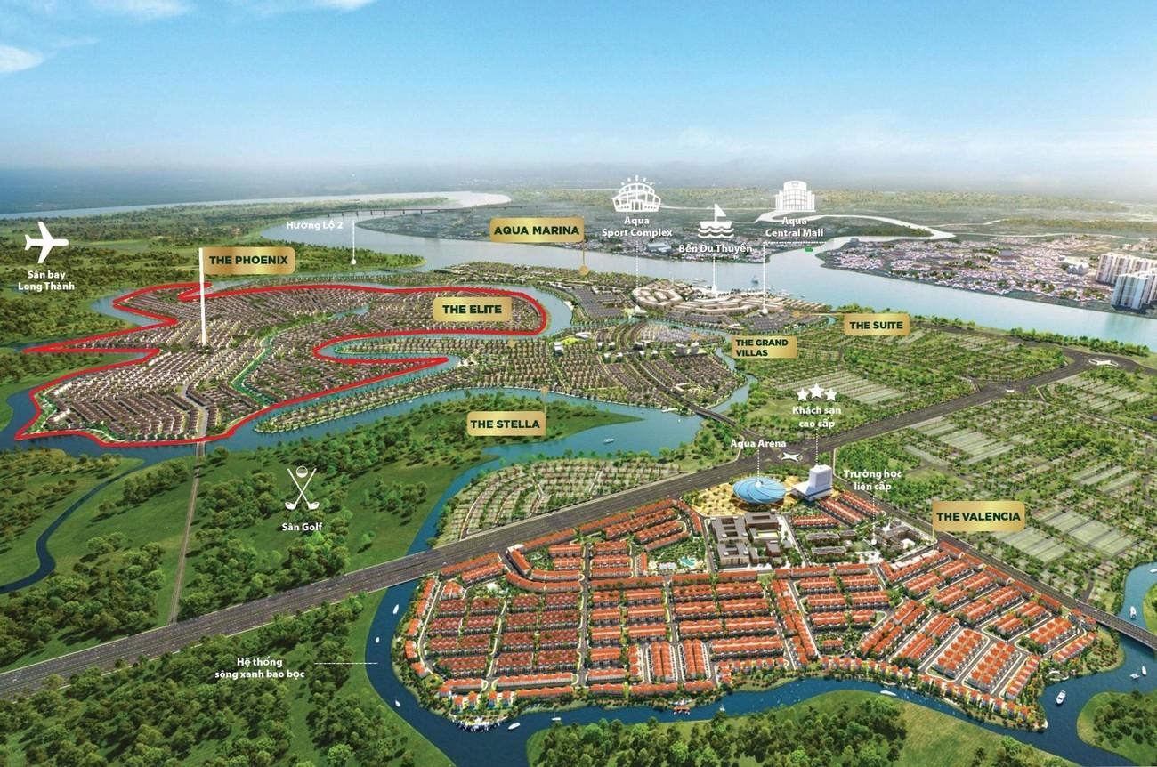 Aqua City đảo Phụng Hoàng (The Phoenix South) chủ đầu tư NovaLand
