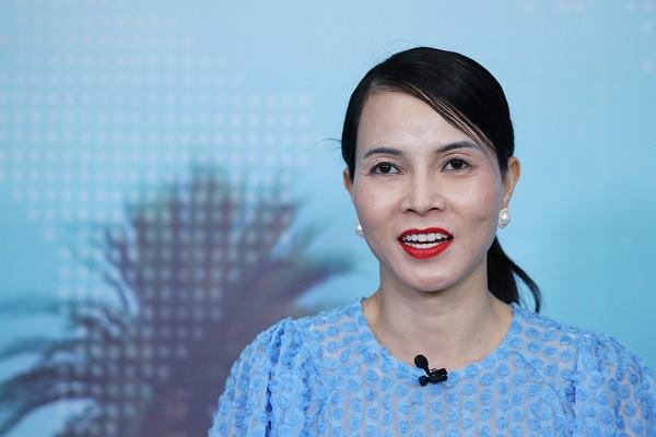 Bà Bùi Kim Thùy, chuyên gia kinh tế, đại diện Hội đồng kinh doanh Hoa Kỳ - Asean