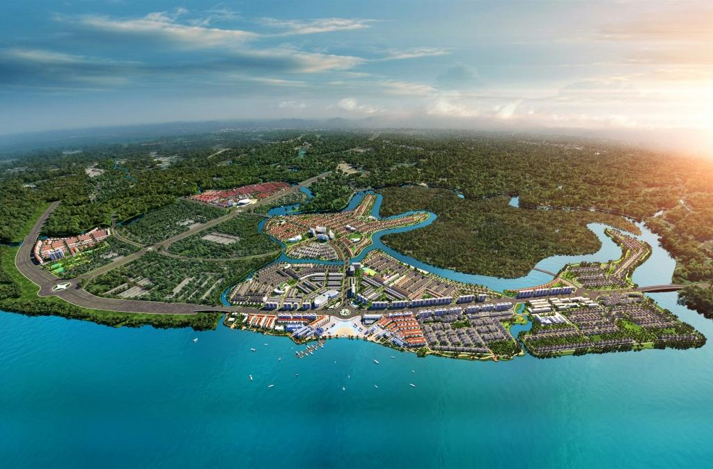 Khu đô thị sinh thái thông minh Aqua City