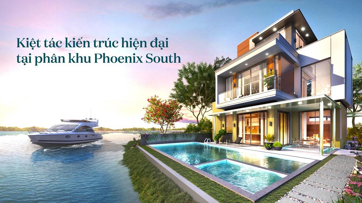 Giá bán biệt thự The Phoenix South