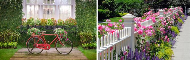 Chủ nhân ngôi nhà vườn có thể tận dụng vật cũ để trang trí thêm cho khoảng sân thêm sinh động.
