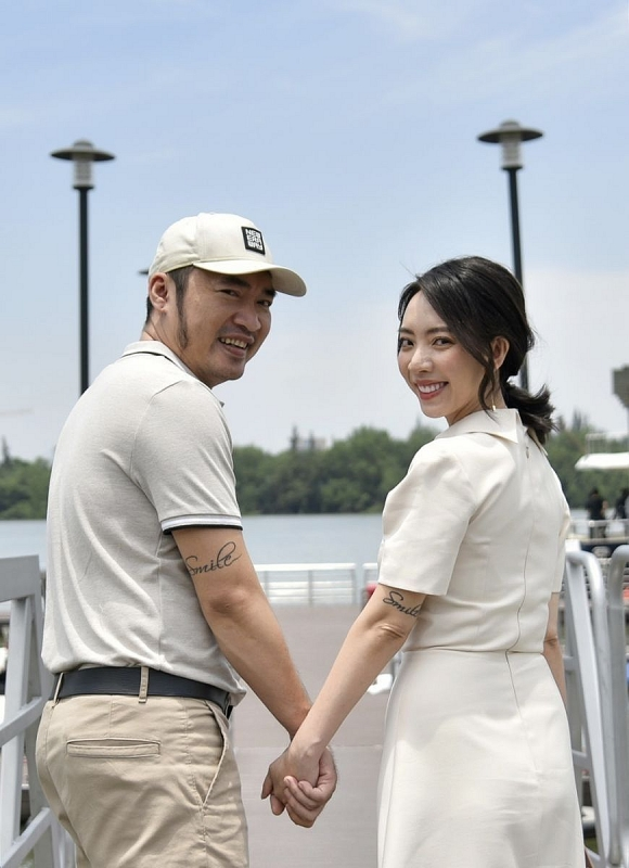 Aqua City Đồng Nai chinh phục vợ chồng nghệ sĩ Thu Trang – Tiến Luật.
