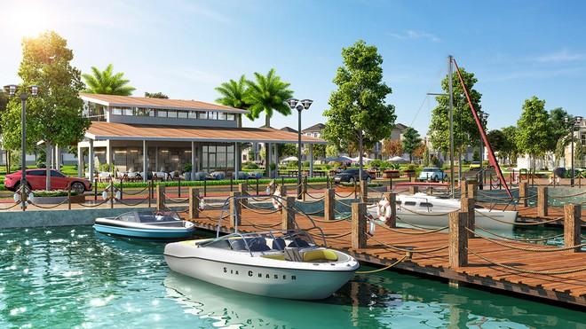 Tiện ích bến thuyền Aqua City