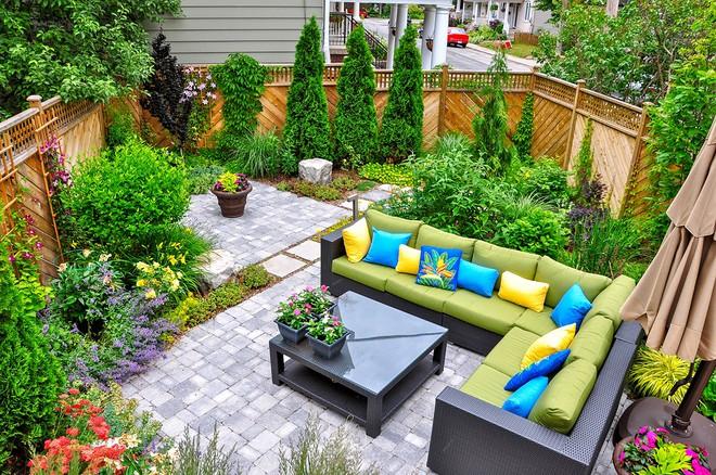 Không gian sống xanh tại Aqua City