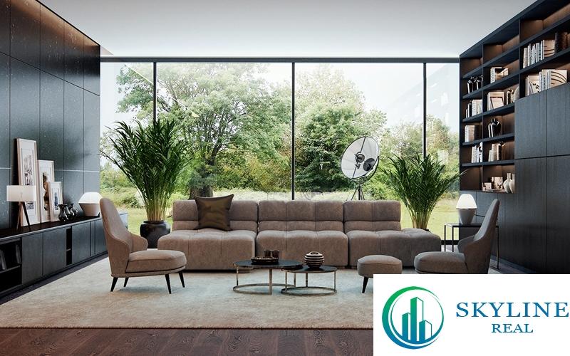 Chủ nhân nhà phố diện tích lớn có thể ứng dụng nhiều phong cách thiết kế.