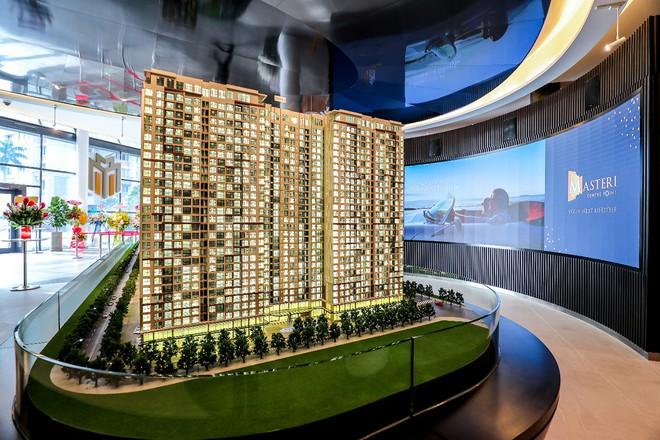 Sa bàn dự án Masteri Centre Point được thể hiện ba chiều giúp khách hàng có được hình dung rõ nét nhất về dự án