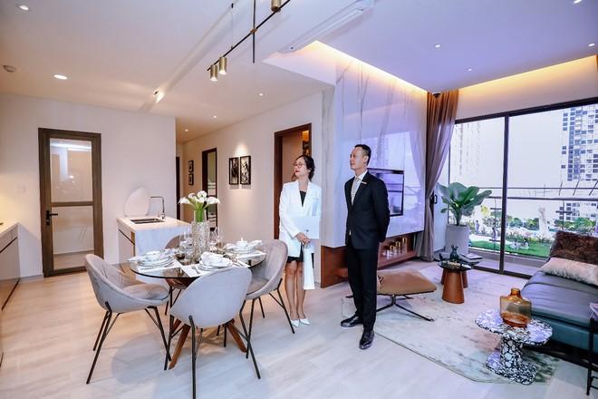Căn hộ mẫu Masteri Centre Point được thiết kế theo phong cách sang trọng, mô phỏng căn hộ 1, 2, 3 phòng ngủ