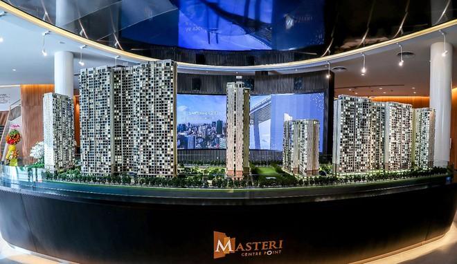 Sa bàn 3D dự án Masteri Centre Point