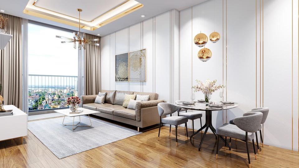 Nhà mẫu dự án căn hộ King Crown Infinity Thủ Đức