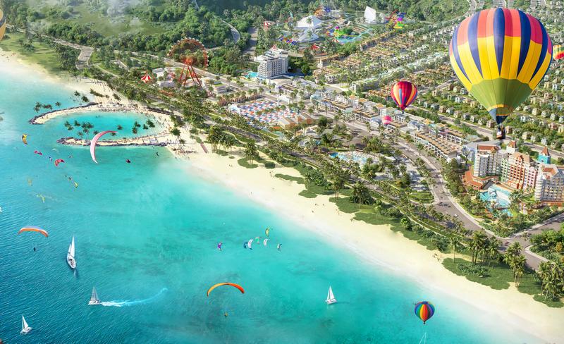 NovaWorld Phan Thiết – Siêu thành phố biển – du lịch – sức khỏe quy mô 1.000 ha