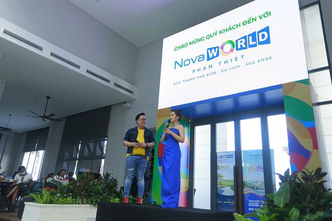 Nguyên Hà xuất hiện tại NovaWorld Phan Thiết