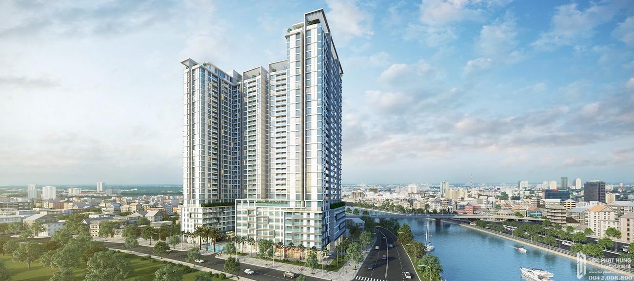 Phối cảnh tổng thể dự án căn hộ chung cư Masteri Millennium Quận 4