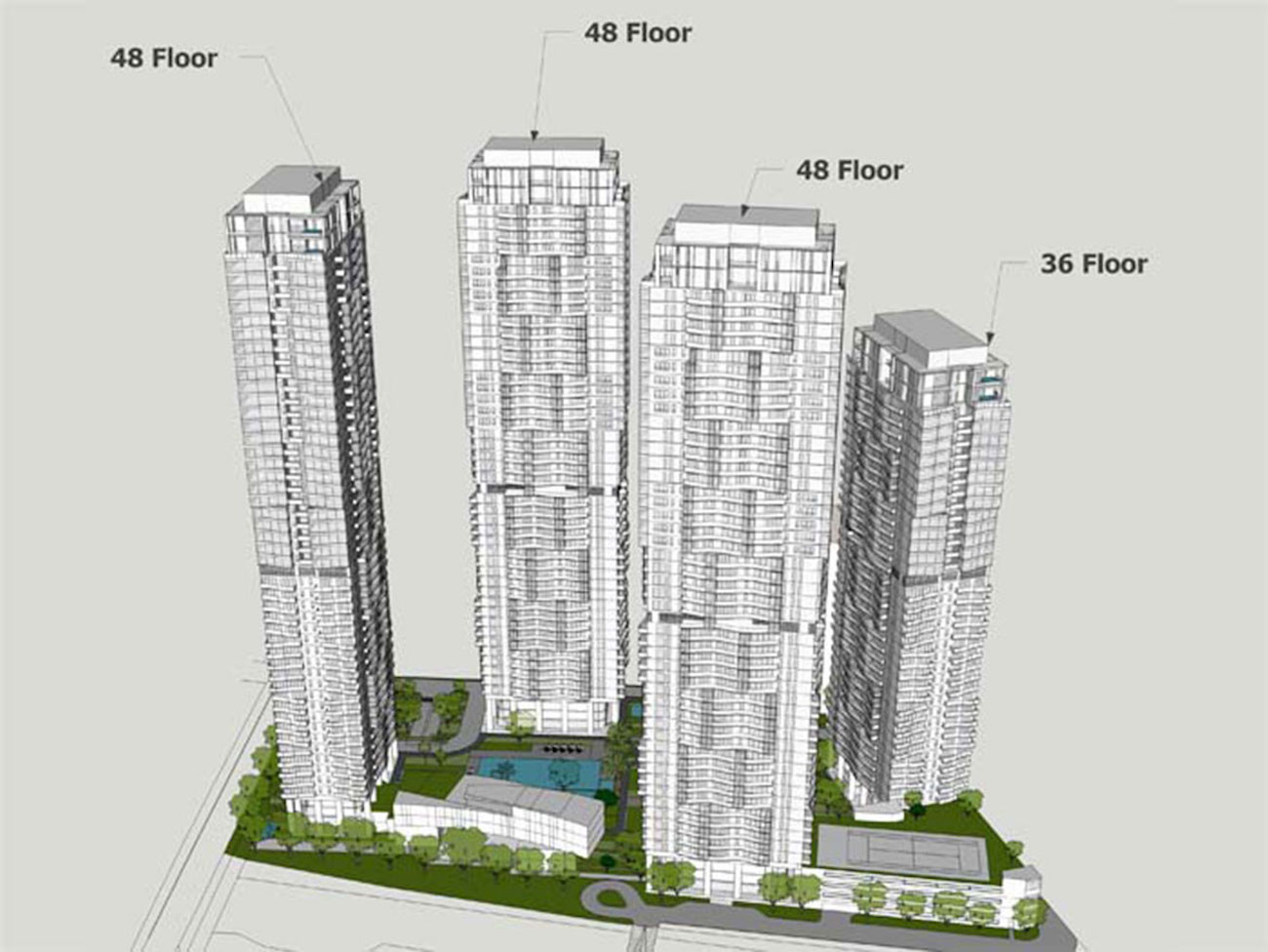 Tổng quan dự án Masteri Park Land với 4 blocks căn hộ cao cấp