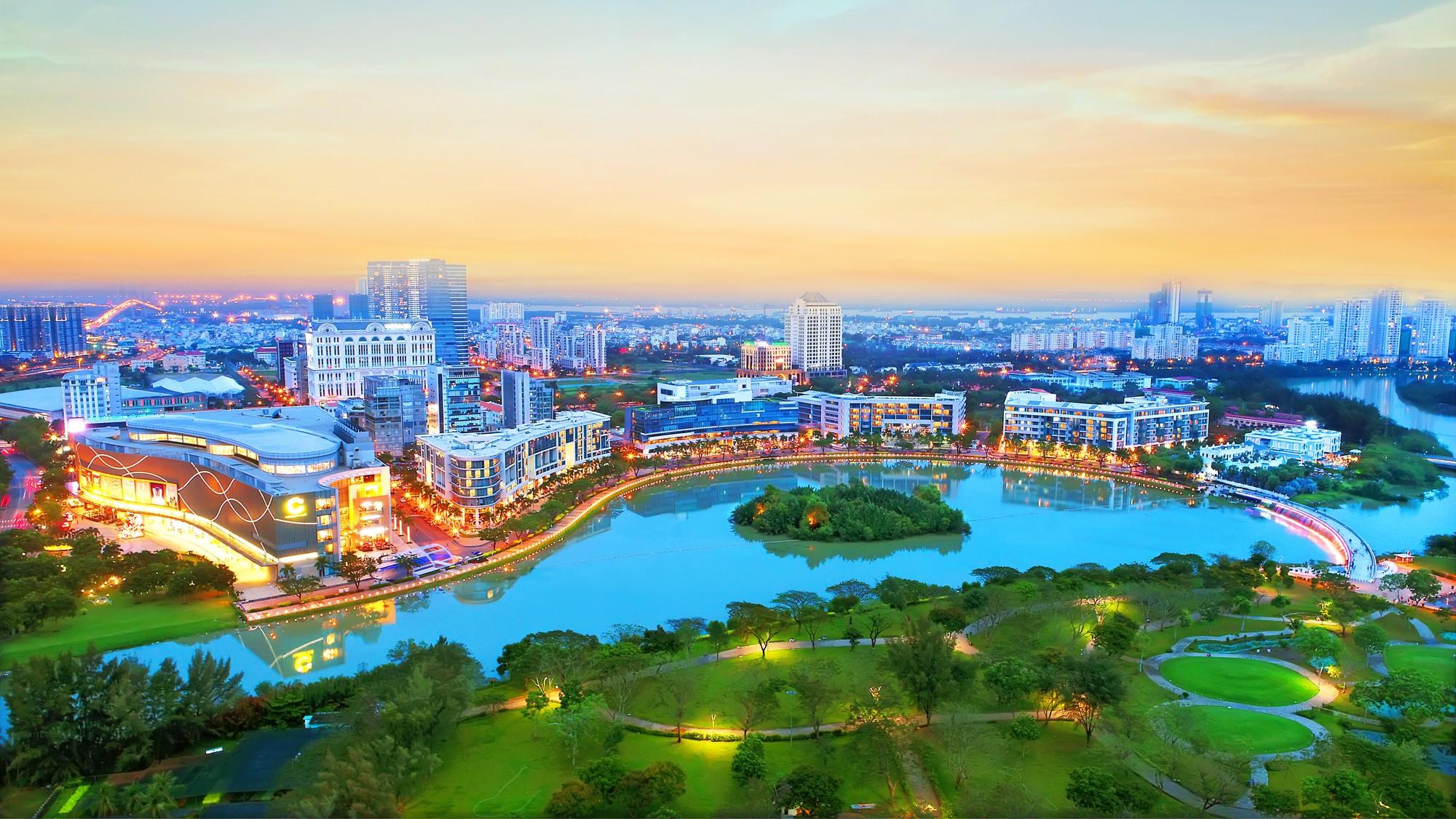 Khu đô thị mang tính biểu tượng của VN – Phú Mỹ Hưng