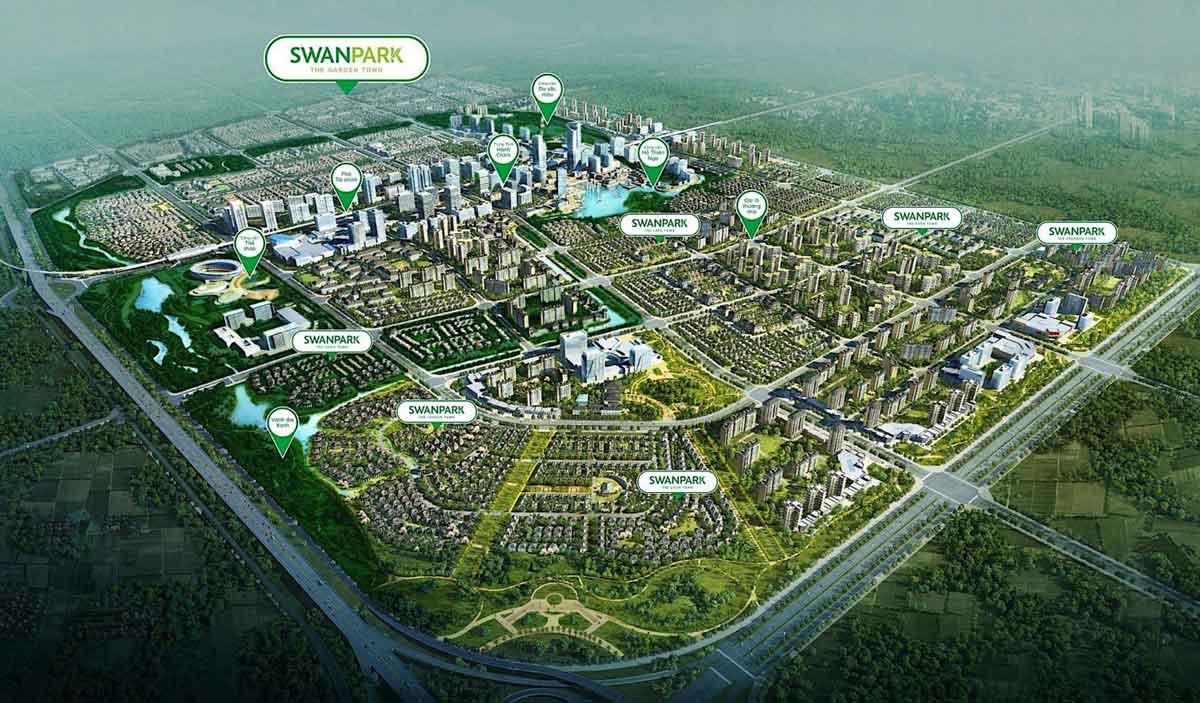 giới thiệu tổng quan dự án swan park