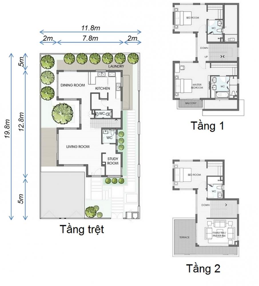 Thiết kế Biệt Thự Cát Tường Swan Park