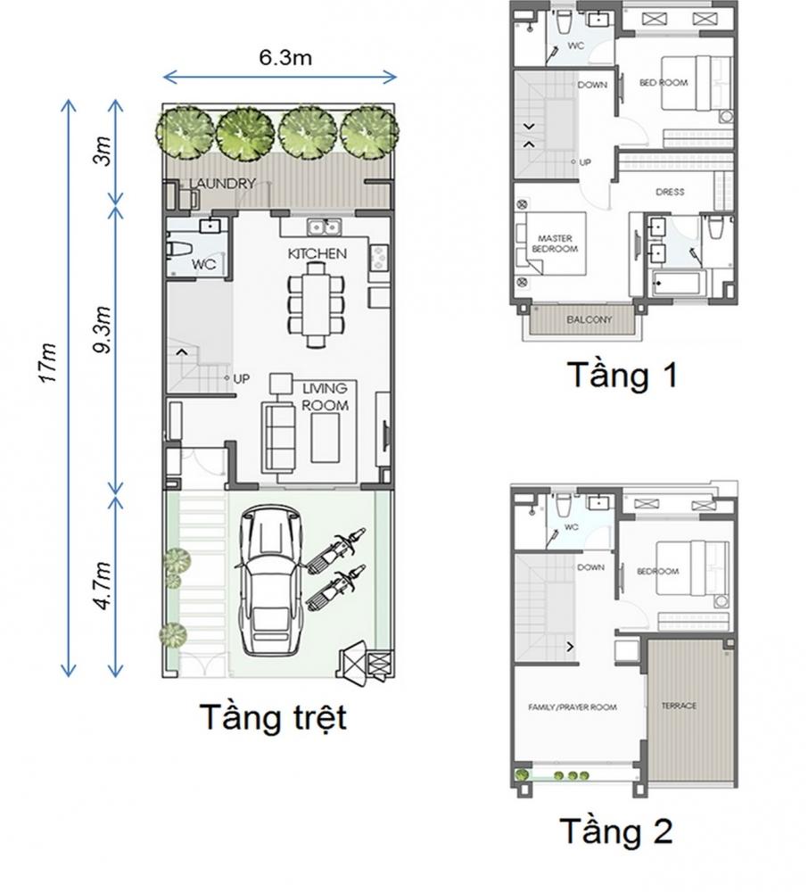 Thiết kế Biệt Thự Sinh Thái Swan Park