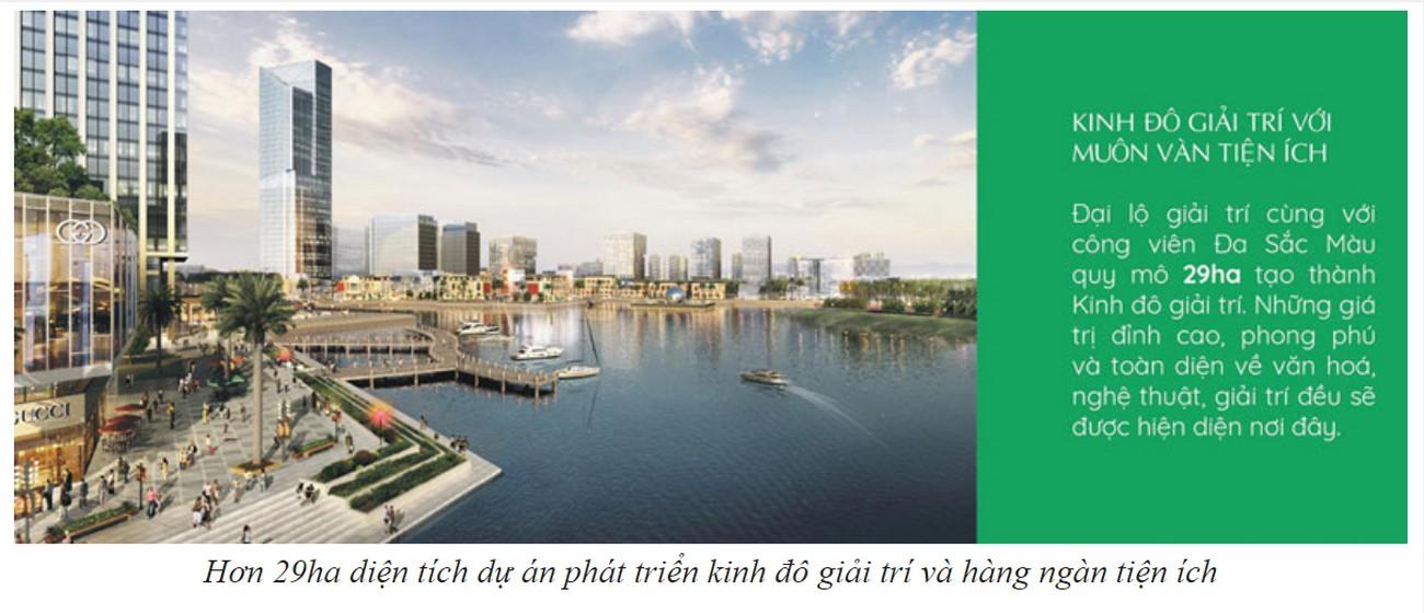 Tiện ích dự án Swan Park Nhơn Trạch