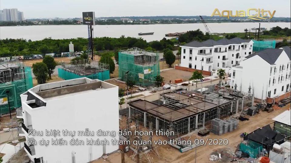 Tiến độ khu đô thị sinh thái Aqua City chủ đầu tư Novaland