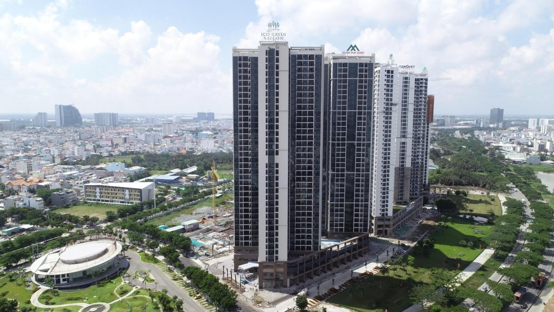 Tiến độ thực tế dự án Eco Green Saigon