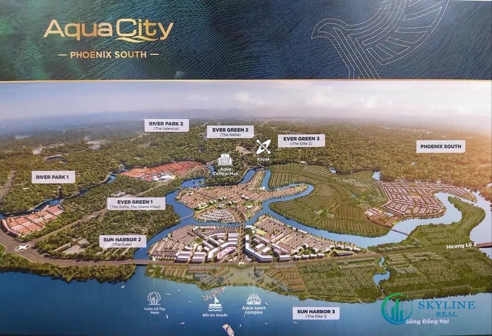 Việc thâu tómBất động sản Phúc Hoa, có được đảo Phụng Hoàng giúp Aqua City nâng tổng diện tích lên gần 1.000 ha