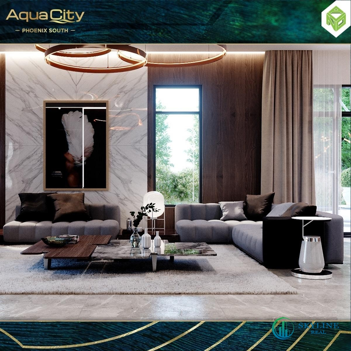 Aqua City Phoenix South - Tuyệt tác kiến trúc hiện đại