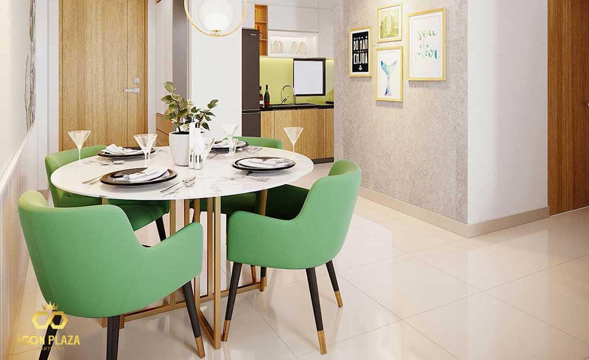 Bàn ăn Icon Plaza Bình Dương chủ đầu tư Phú Hồng Thịnh