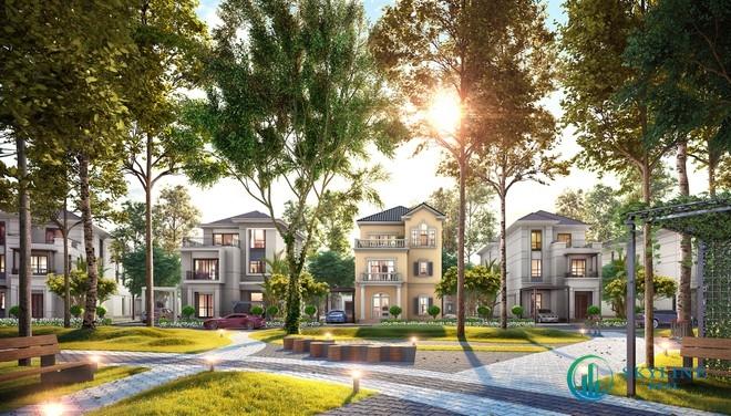 Dòng biệt thự đơn lập The Grand Villas của Aqua City