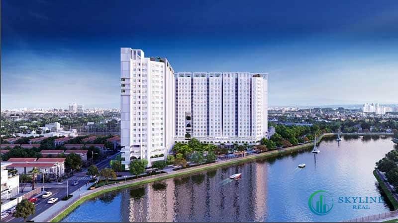 Phối cảnh chung cư Marina Tower Bình Dương