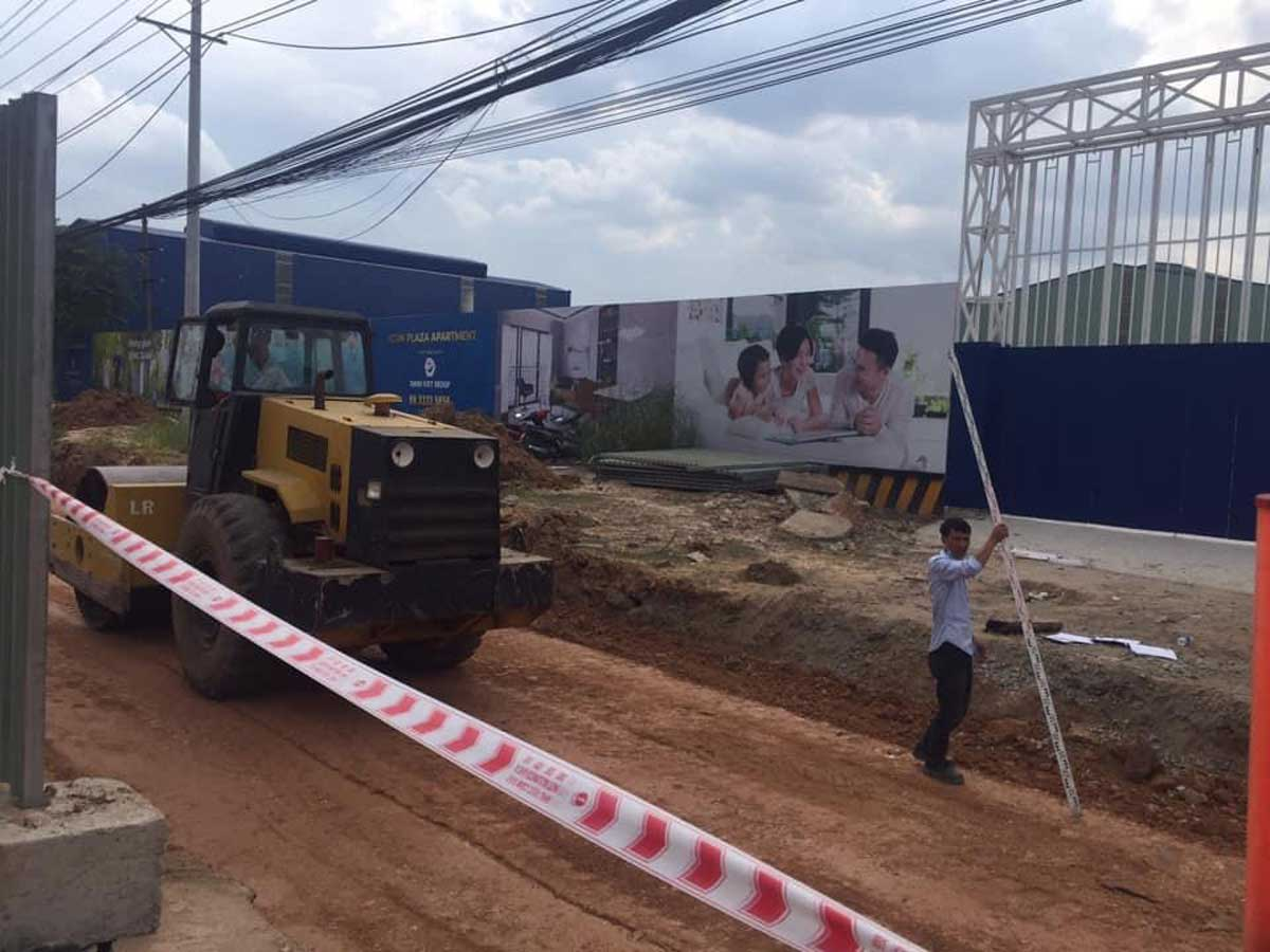 Tiến độ thi công dự án căn hộ chung cư Icon Plaza Bình Dương chủ đầu tư Phú Hồng Thịnh